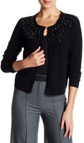 Milly Luxe Jeweled Cardigan