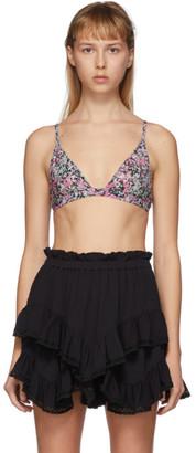 Isabel Marant Multicolor Niall Bikini Top