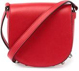 Alexander Wang Lia Mini Leather Saddle Bag, Cult