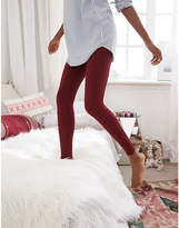 aerie PLAY Flocked Legging