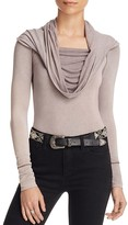 Free People Cosmo Cowl-Neck Top