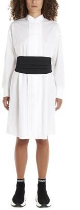 MM6 MAISON MARGIELA Pleated Oversized Shirt Dress
