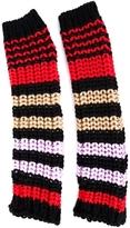 Sonia Rykiel Striped Fingerless Gloves