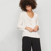 Maje Floaty blouse with golden cord