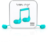 Happy Plugs Blue Earbuds