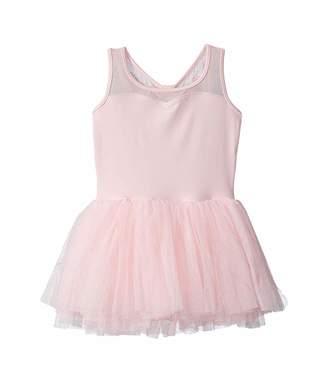 Bloch Mesh Back Tank Tutu Dress (Toddler/Little Kids/Big Kids)