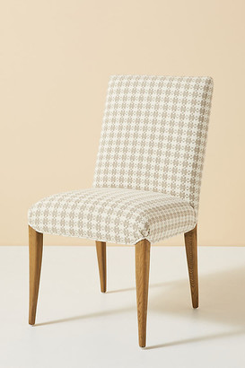 Anthropologie Enigma Tia Dining Chair By in Beige Size ALL