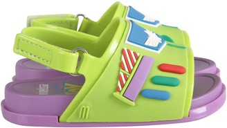 Melissa Green And Lilac Boy Sandals