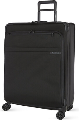 Briggs & Riley Black Large Expandable Spinner Suitcase, Size: 71.1cm