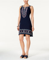 Style&Co. Style & Co Petite Embroidered Dress, Only at Macy's