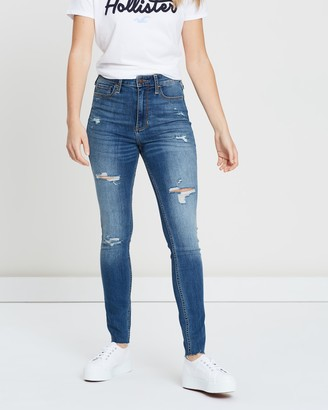 Hollister Ultra High-Rise Rip Jeans