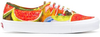 Vans x Frida watermelon print sneakers