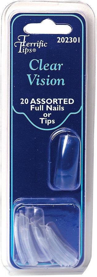 Terrific Tips Clear Vision Nail Tips