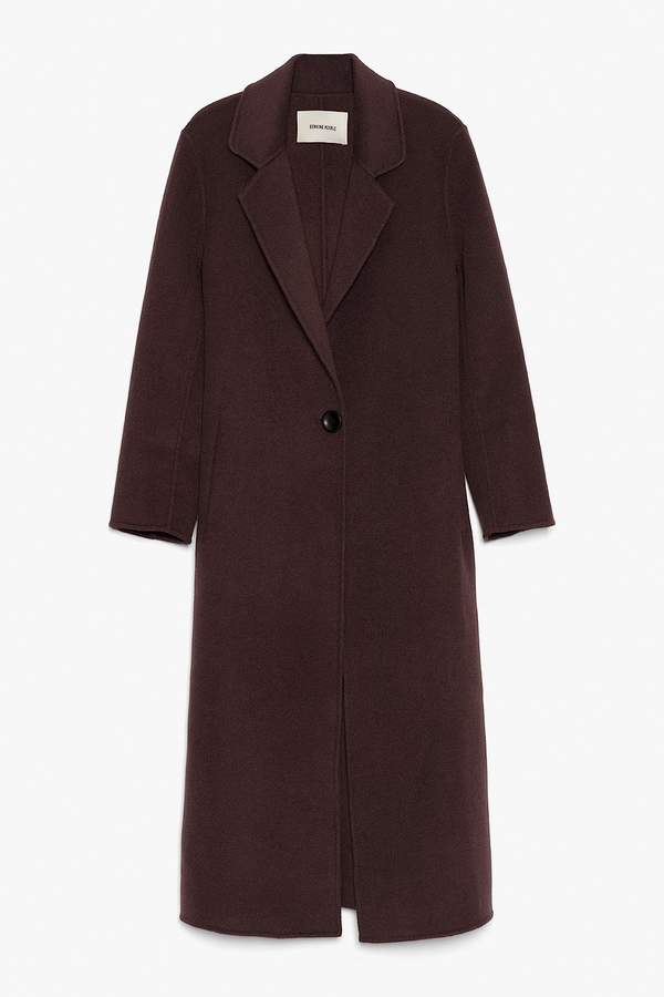 Genuine People Wool Maxi Coat