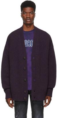DSQUARED2 Purple Melange Cardigan