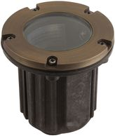 Best Quality Lighting Die-Cast 5-Inch LV37AB Outdoor Well Light in Antique Bronze