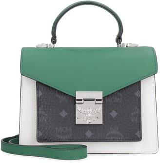 MCM Patricia Leather Handbag