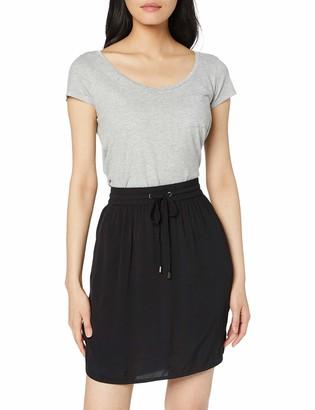 Saint Tropez Women's Elastic Waist Skirt