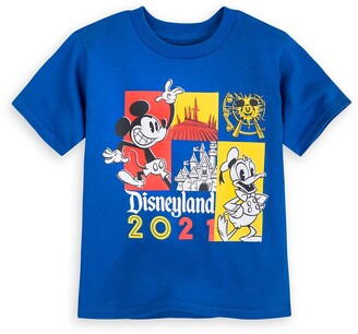 Disney Mickey Mouse and Donald Duck T-Shirt for Toddlers Disneyland 2021