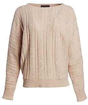 Fabiana Filippi Women's Paillette Cashmere Sweater