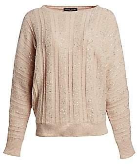 Fabiana Filippi Women's Paillette Cashmere Sweater
