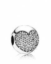 Pandora Clip - Sterling Silver and Cubic Zirconia Love of My Life, Moments Collection