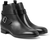 Balenciaga - Leather Jodhpur Boots