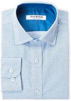 Isaac Mizrahi Boys 8-20) Diamond Print Shirt