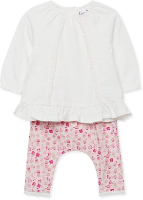M&Co Frill top and leggings set (Newborn-18mths)