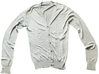 Balenciaga Silver Silk Knitwear