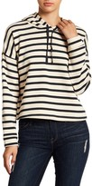 Cotton Emporium Striped Hoodie