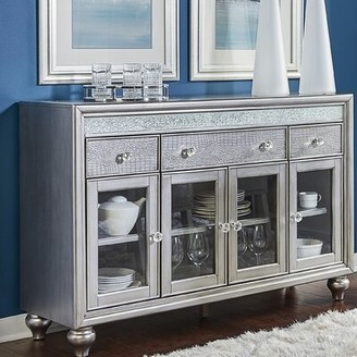 "House of Hampton Hilson 58"" Wide 3 Drawer Sideboard"