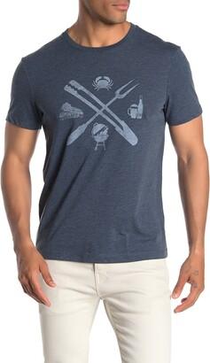 J.Crew BBQ Tools Front Graphic Print T-Shirt
