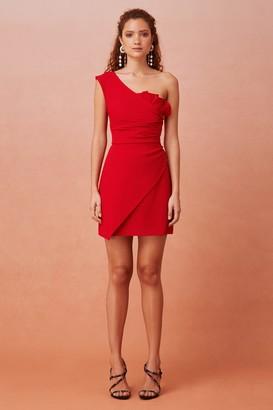 Keepsake EVERYWHERE MINI DRESS Scarlet