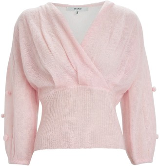 Gestuz Jayla Mohair Wrap Sweater