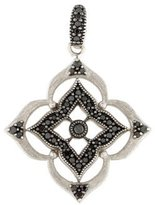 Jude Frances 18K Black Diamond Pendant