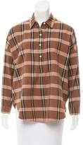 The Great Oversize Plaid Top w/ Tags