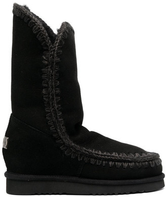 Mou Eskimo Inner Wedge Ankle Boots