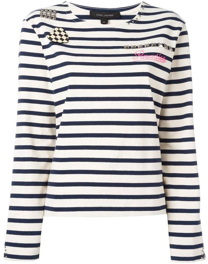 Marc Jacobs Breton stripe T-shirt