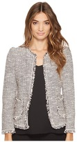 Rebecca Taylor Confetti Tweed Jacket Women's Coat