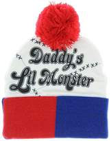 Bioworld Suicide Squad Harley Quinn Daddy's Little Monster Snow Hat