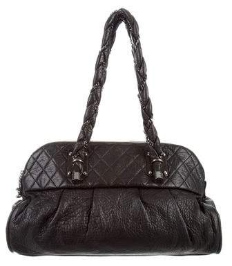 Chanel Large Quilted Lady Braid Tote