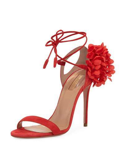 Aquazzura Lily Of The Valley Sandal