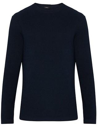 Theory Davies Standard-Fit Linen-Blend Sweater