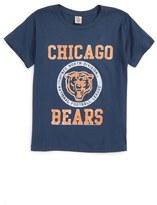 Junk Food Clothing Kick Off Chicago Bears T-Shirt (Big Boys)