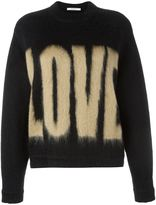 Givenchy Love printed sweater