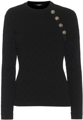 Balmain Embellished sweater