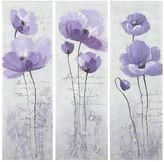 Safavieh 3-piece Poppy Canvas Wall Art Set