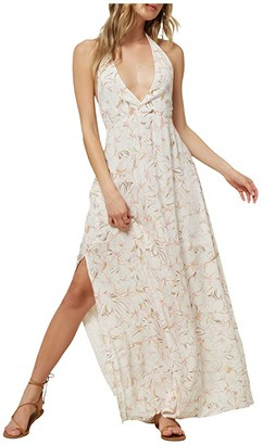 O'Neill Bellus Dress (Winter White) Women's Dress
