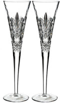 Waterford Crystal Times Square Gift of Kindness Flutes, Set of 2